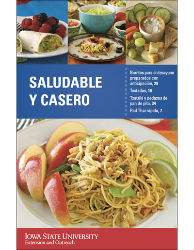 Saludable Y Casero -- Healthy & Homemade Cookbook (Spanish)